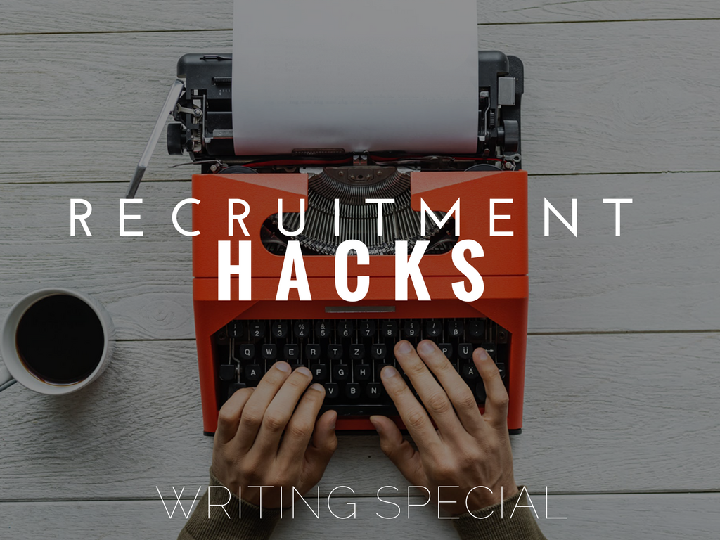 Recruiter Productivity Hacks Writing Special