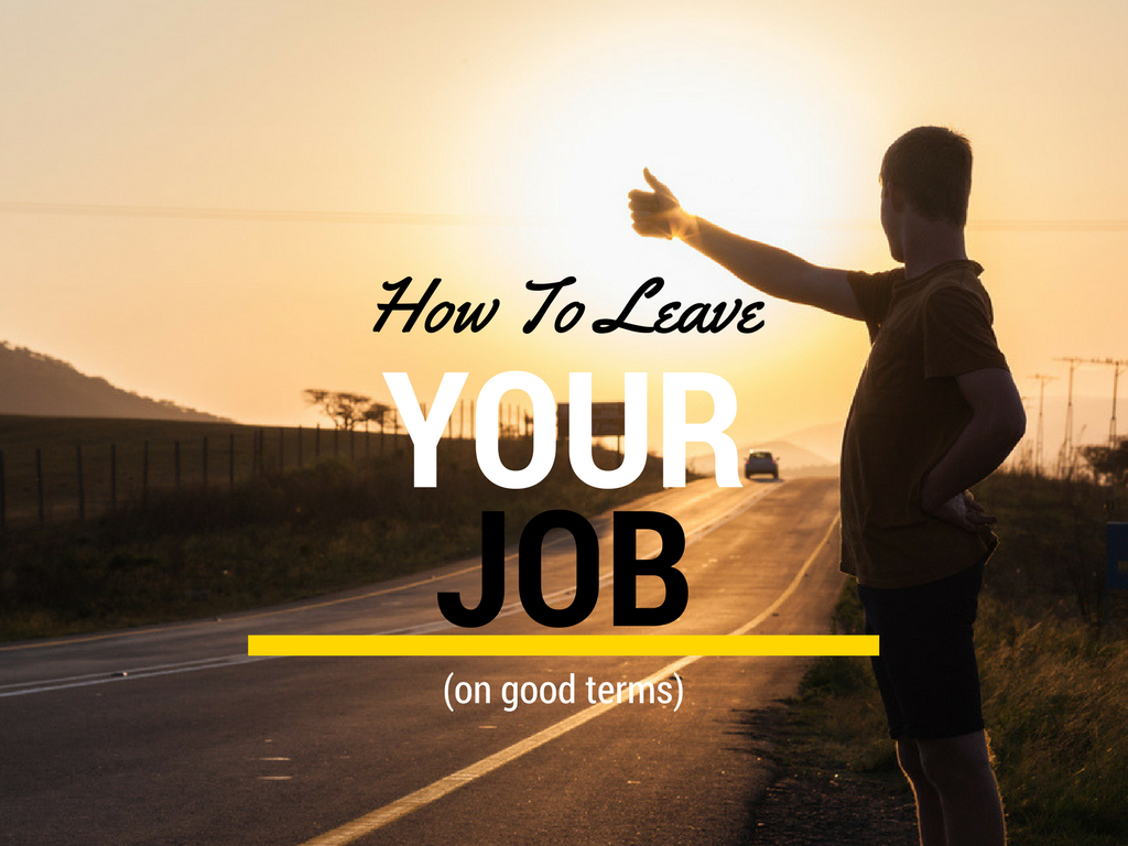 tom wish author at news feed how to leave your job