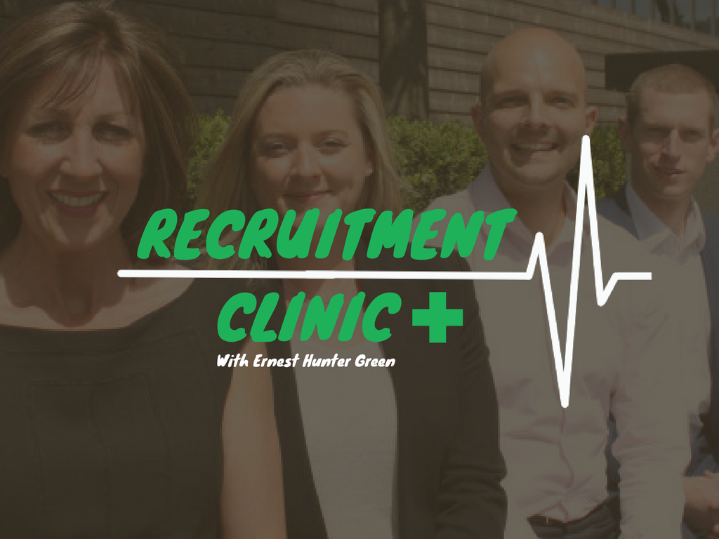 Ernest Hunter Green Recruitment Clinic Title Image