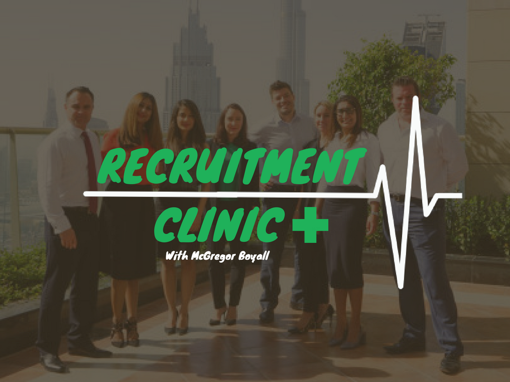 McGregor Boyall Recruitment Clinic Title Image