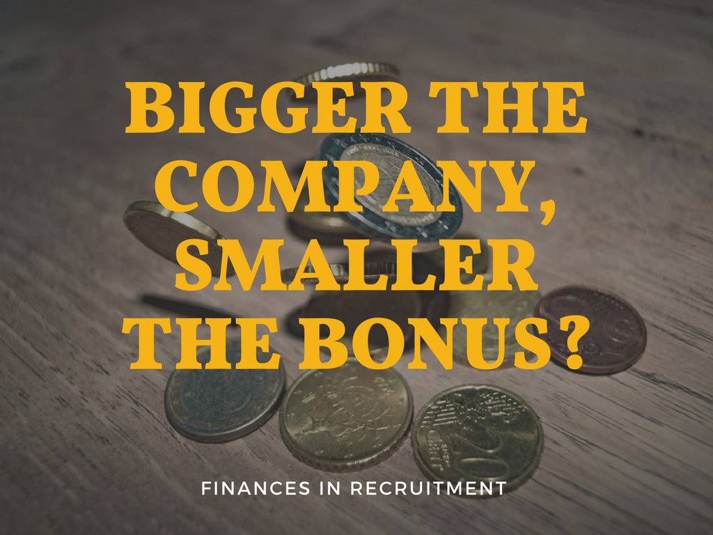 The bigger the company the smaller the bonus- (1)