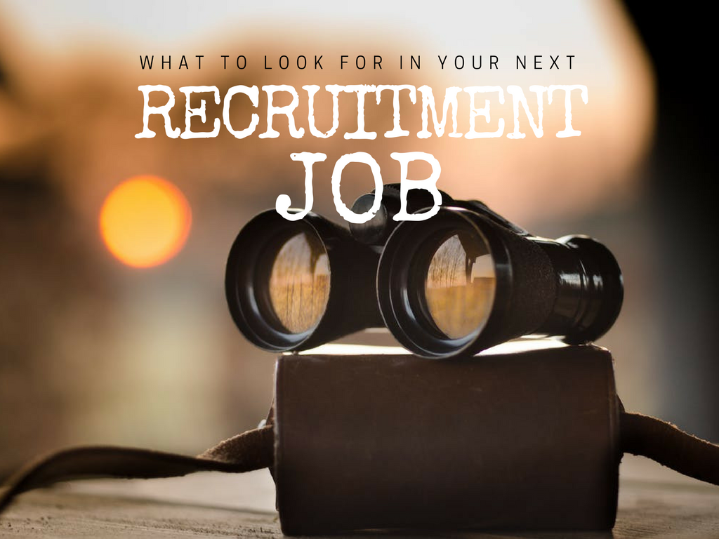 What To Look For in Your Rec Job