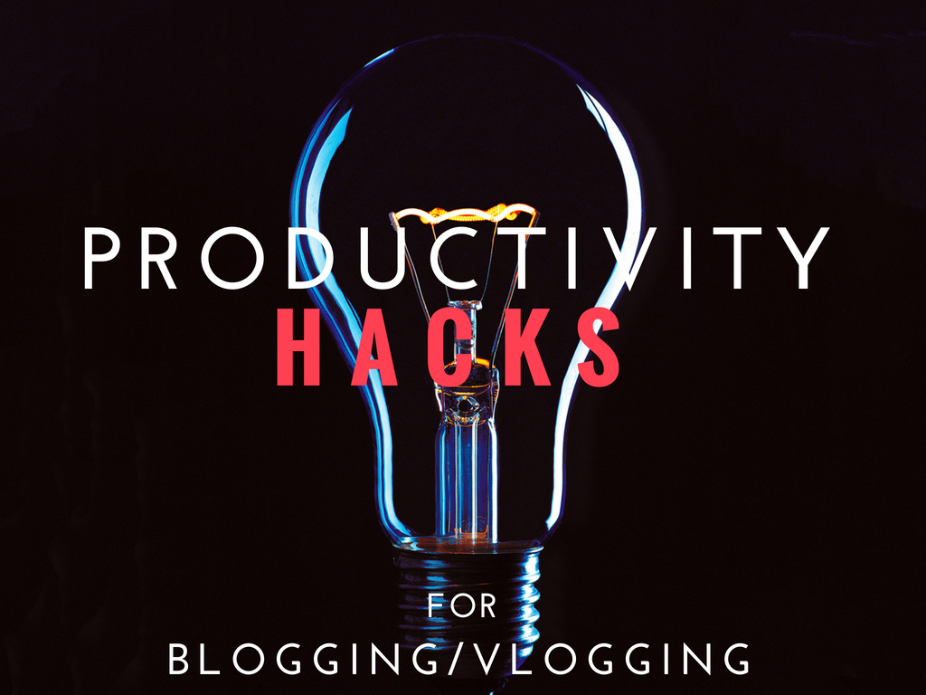 Productivity Hacks for Recruiters Blogging and Vlogging
