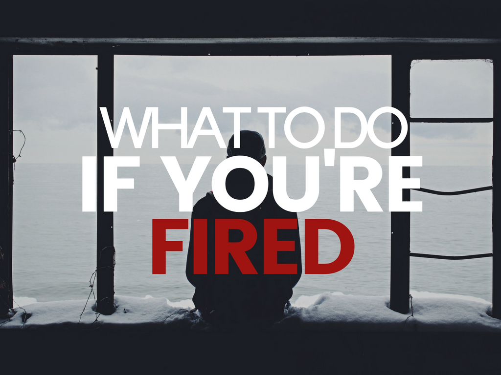 What to do if you're sacked in recruitment