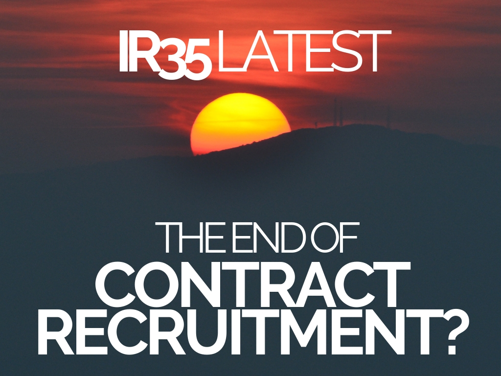 IR35 LATEST: The End of Contract ...