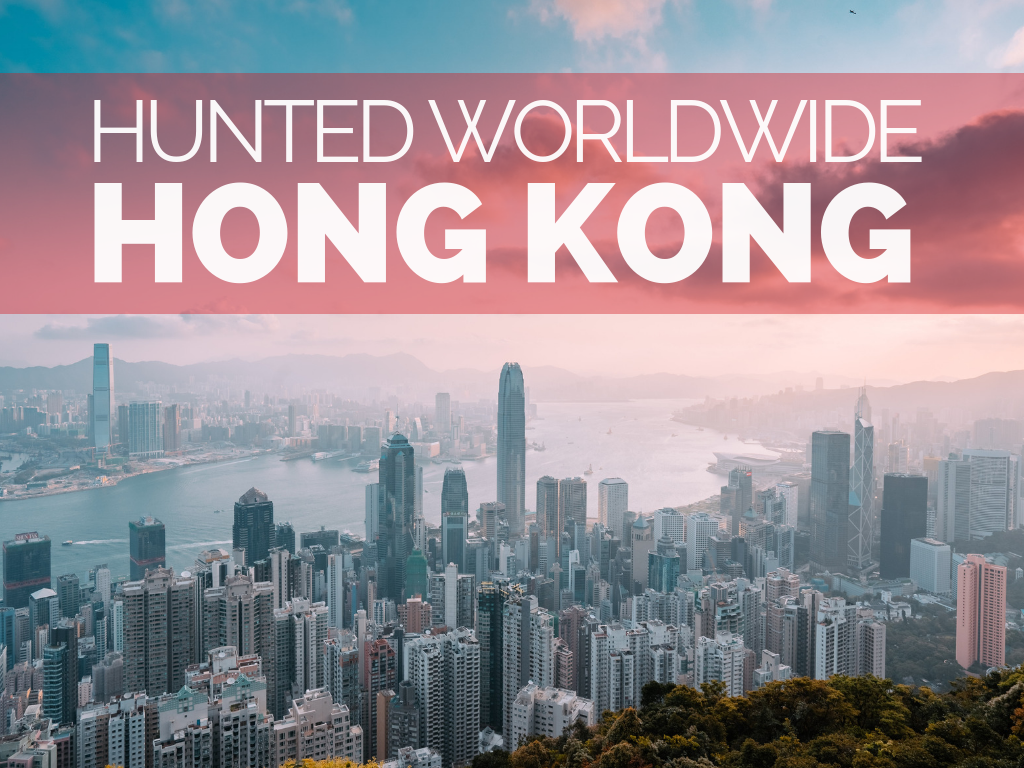 Hunted Worldwide Hong Kong Cover 1