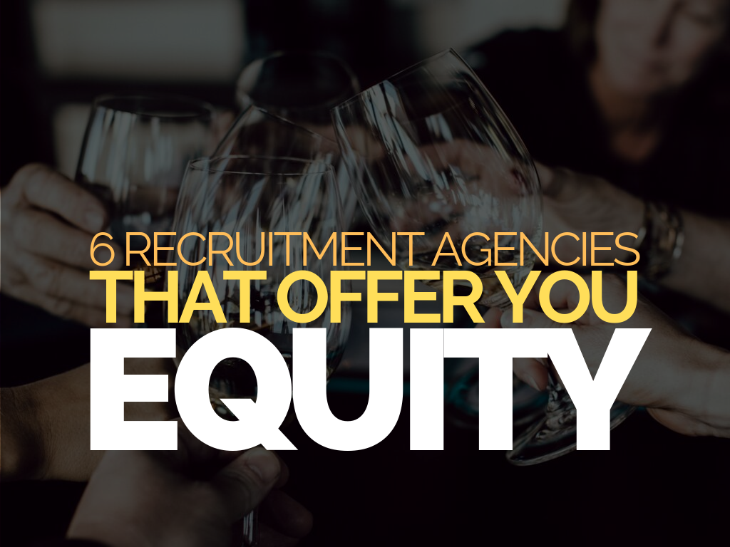 6 Recruitment Agencies That Offer You Equity