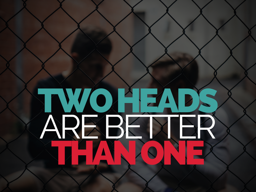 Why Two Heads Are Better Than One In Recruitment