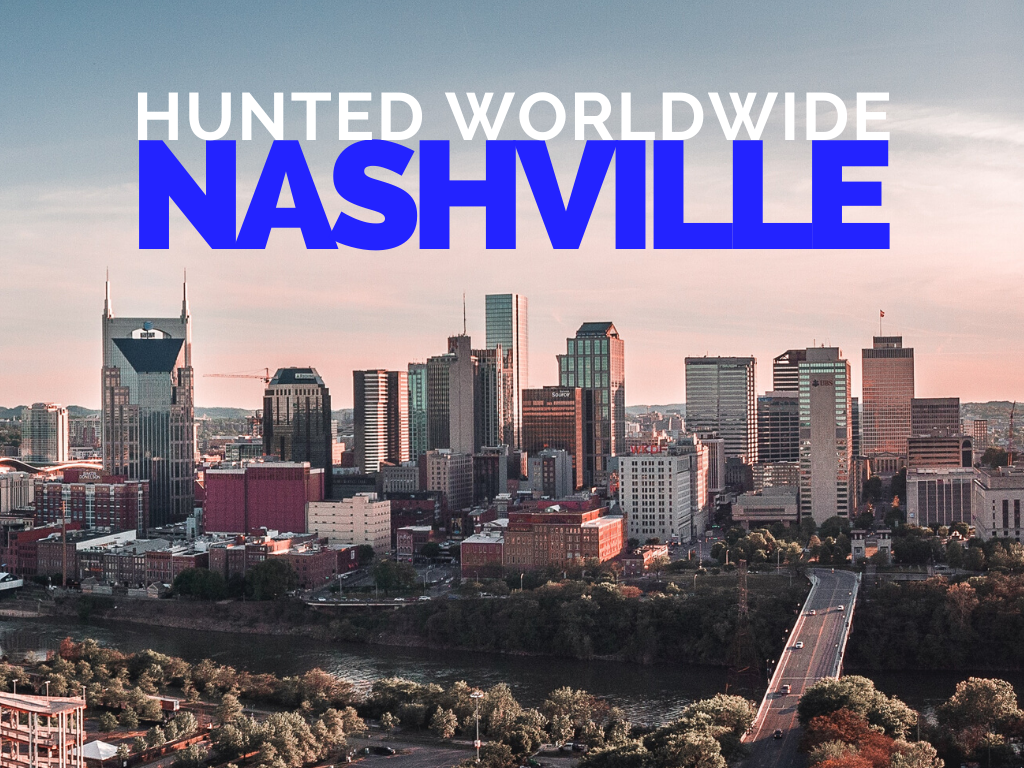 Hunted Worldwide: Nashville